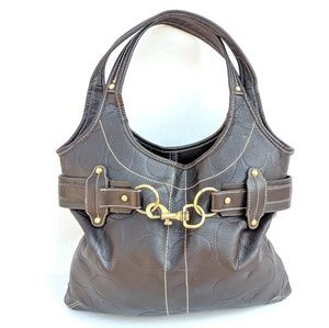 Coach classic brown shoulder bag / purse